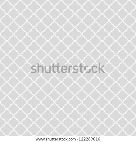 Geometric abstract seamless pattern. Classic background. Vector illustration - stock vector