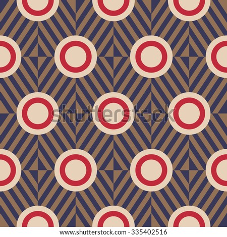 Geometric background in Art Deco style 4