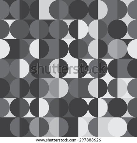 geometric circle pattern - stock vector
