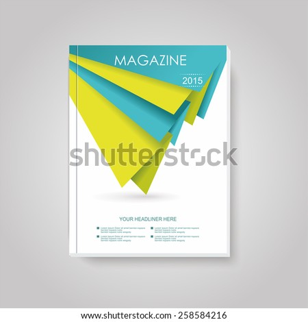 Geometric design vector business brochures, magazines, banners - stock vector