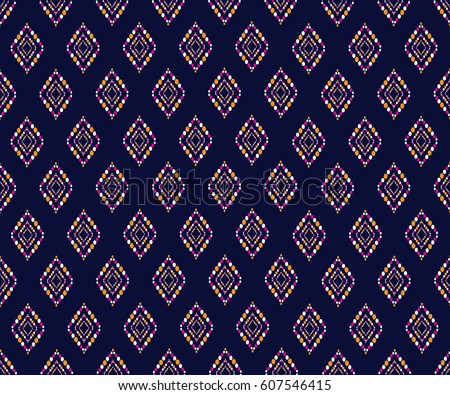 Geometric ethnic pattern design background wallpaper geometric ethnic pattern design for background or wallpaper and clothing voltagebd Gallery