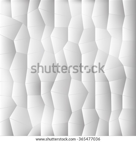 Geometric low poly graphic repeat pattern made out of rectangle facets. Colorful background. Vector illustration pattern. 3 d texture. grey background - stock vector