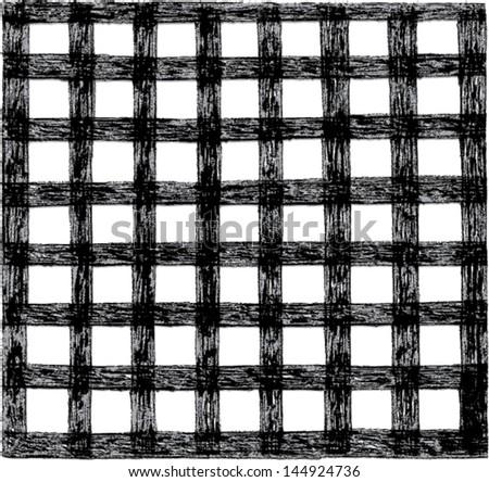 geometric net pattern  - stock vector