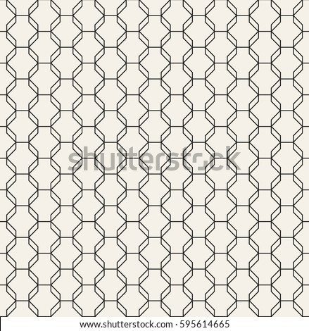 Geometric Octagon Pattern Vector Seamless Polygonal Stock Vector ...
