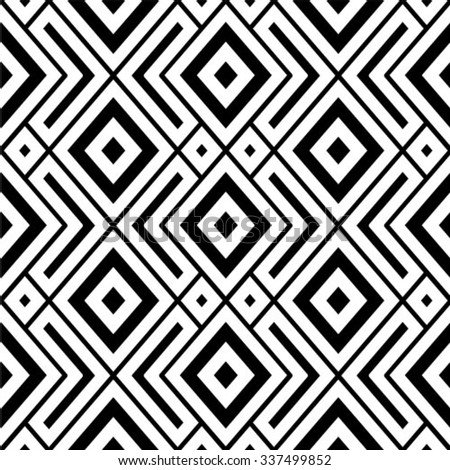 Geometric ornament. Stylish background. Vector repeating texture. Seamless pattern. lines.