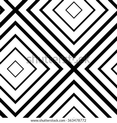 Geometric pattern background. Seamless art deco vector