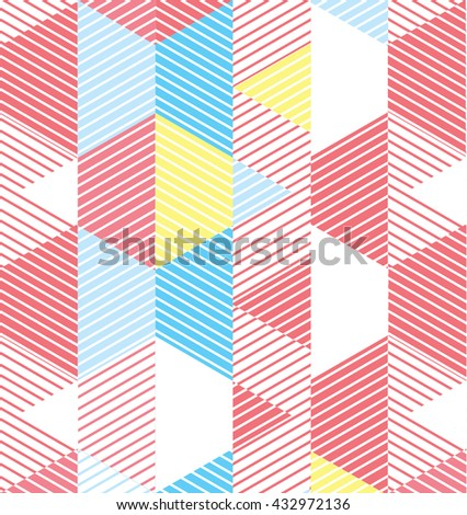 Geometric Pattern.Geometric Vector.Geometric Lines.Geometric Print.Geometric Graphic.Wallpaper.Geometric Stripes.  - stock vector