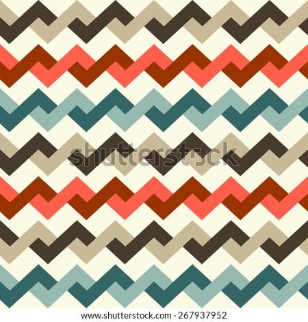 geometric pattern seamless. Vector illustration - stock vector