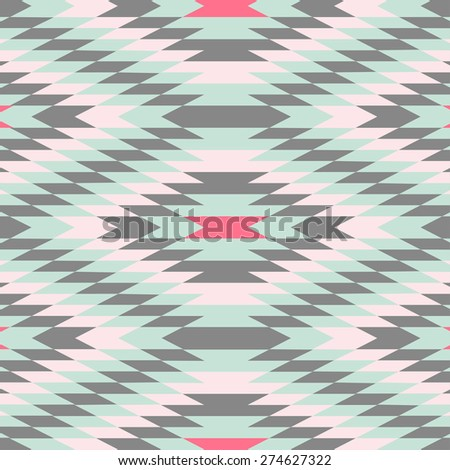 Geometric Pattern - Vector Abstract Background - stock vector
