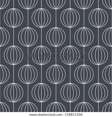 Geometric seamless pattern. Abstract vector background. - stock vector