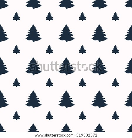Geometric seamless pattern. Christmas for winter holidays design. Modern Christmas pattern.