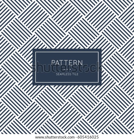 Fantastisch Geometric Seamless Pattern. Vector Illustration For Fashion Minimalistic  Design. Minimal Style Abstract Background Decoration