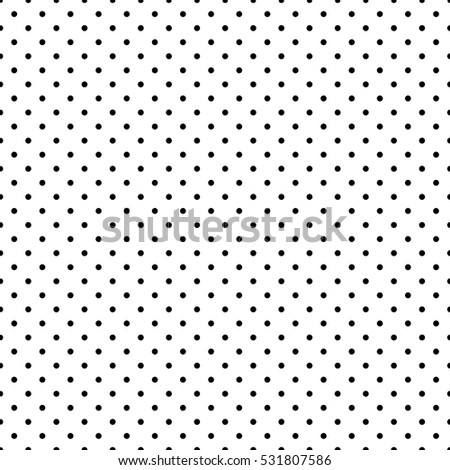 Geometric Seamless Pattern Dots Wallpaper Paper Stock Vector