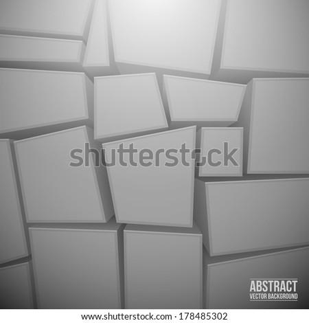 Geometric texture in vector - stock vector