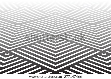 Geometric textured background. Vector art. - stock vector