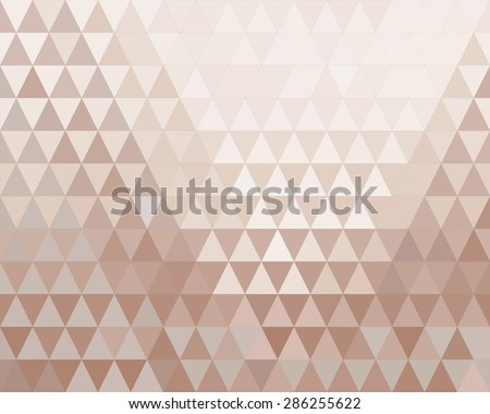 geometric triangle metallic background texture.