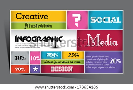 Geometrical Design with Squares background ,vector element, editable illustration, - stock vector
