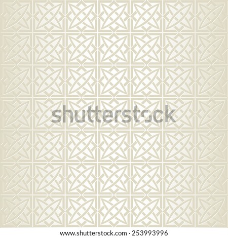 Geometrical seamless pattern - stock vector