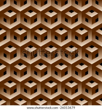 Geometrical seamless pattern. (See more seamless pattern in my portfolio). - stock vector