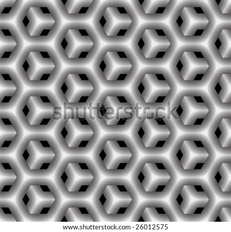 Geometrical seamless pattern. (See more seamless patterns in my portfolio). - stock vector