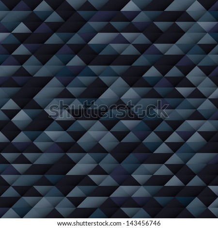 Geometrical vector background with triangles