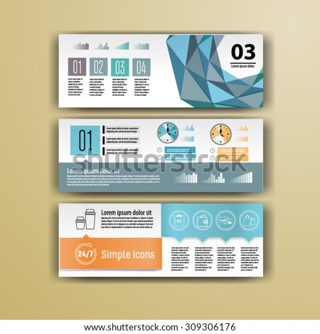 Geometry brochure template design for corporate identity with  statistics and infographics. Cover layout for your business. - stock vector