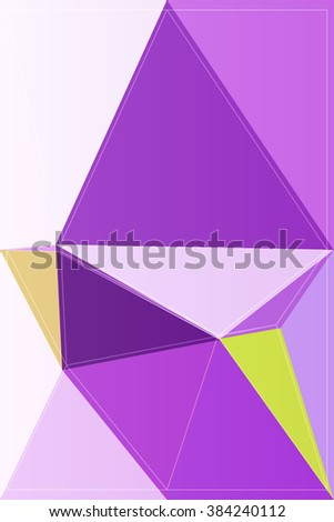 geometry illustration color modern triangle abstract vector