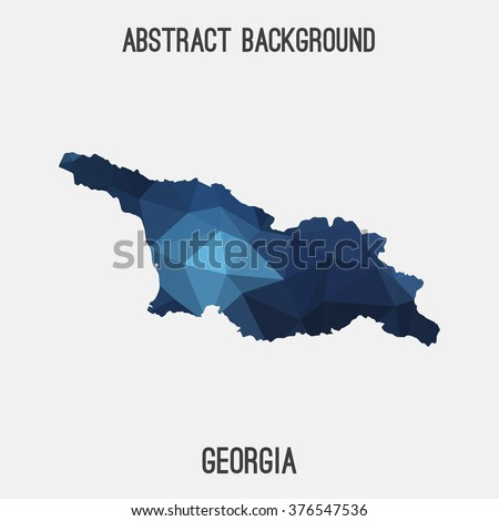 Georgia Abstract Stock Photos Images Pictures Shutterstock - Modern map of georgia us