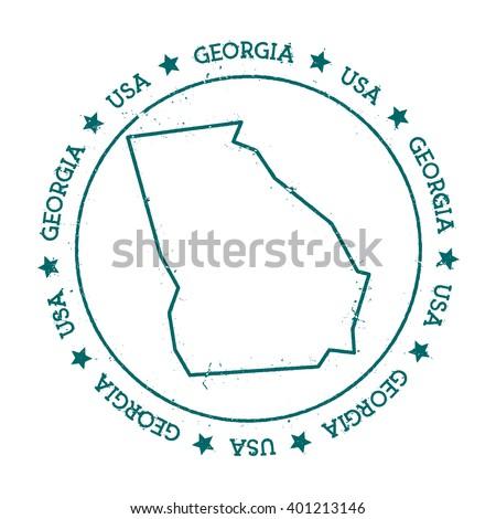 Georgia Map Stock Images RoyaltyFree Images Vectors Shutterstock - Georgia map drawing