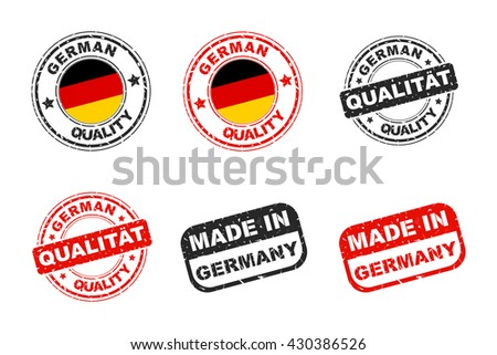 German quality stamp, Icon