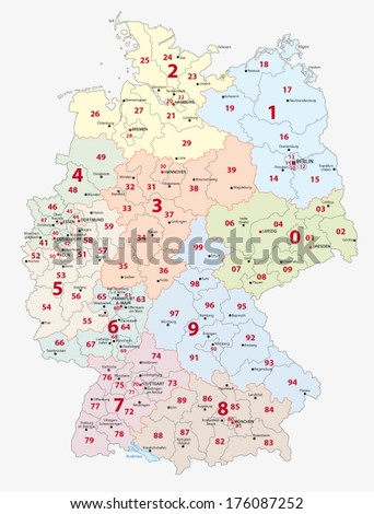 Germany Postal Code
