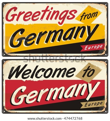 Germany vintage vector souvenir sign postcard stock vector 474472768 germany vintage vector souvenir sign postcard stock vector 474472768 shutterstock m4hsunfo