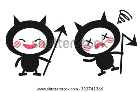 Germs character - stock vector