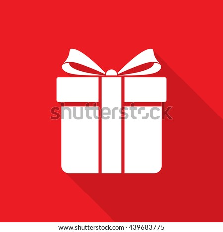 Gift box icon vector stock vector 439683775 shutterstock gift box icon vector negle