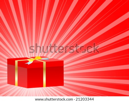 gift box vector illustration