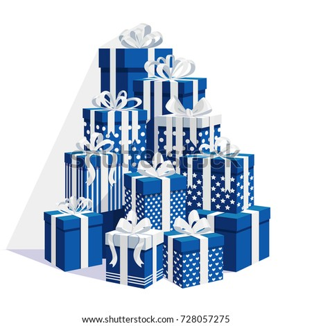 Gift boxes ribbon bow set isolated 728057275 gift boxes ribbon bow set isolated 728057275 shutterstock negle Image collections