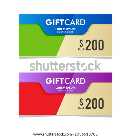 Gift card coupon business voucher template stock vector 1036613785 gift card coupon business voucher template accmission Image collections