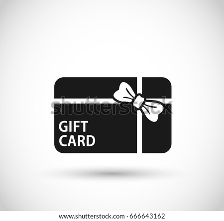 Gift card icon stock images royalty free images vectors gift card icon vector negle Gallery