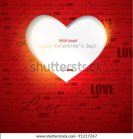 Valentine Card Images RoyaltyFree Images Vectors – Card for Valentine Day