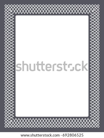 Gift certificate diploma award template border stock vector 2018 gift certificate diploma award template with border as celtic pattern and elements in vector yadclub Images