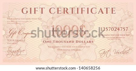 Coupon Template Images RoyaltyFree Images and Vectors – Money Voucher Template