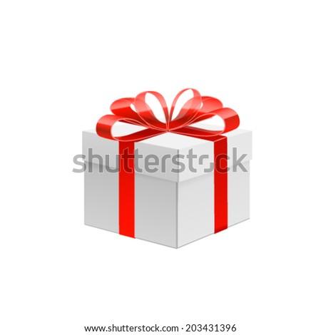 Gift. Vector - stock vector