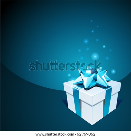 Gift vector background. Eps 10