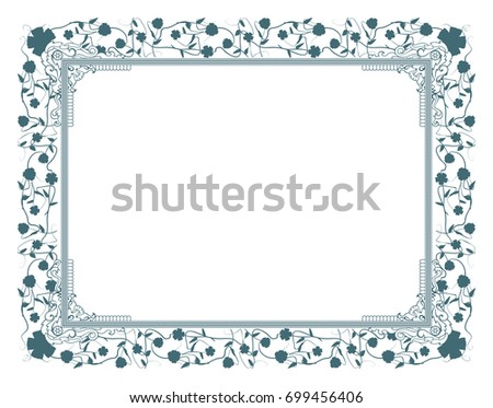 Gift certificate diploma award template border stock vector gift vector certificate diploma award template of course completion with border and pattern and yelopaper Choice Image