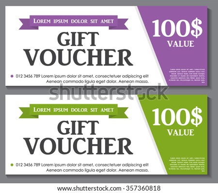 Gift voucher template sample text vector stock vector 357360818 gift voucher template with sample text vector illustration eps10 thecheapjerseys Image collections