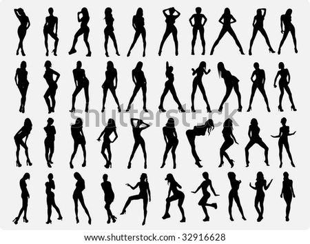 Girls silhouette (all)