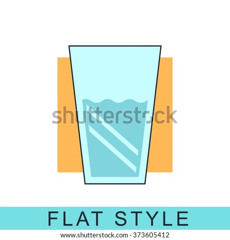 Glass drink Icon Vector. Glass drink Icon JPEG. Glass drink Icon Object. Glass drink Icon Picture. Glass drink Icon Image. Glass drink Icon Graphic. Glass drink Icon Art. Glass drink Icon JPG.  - stock vector
