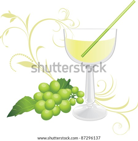stock-vector-glass-with-cocktail-and-spr