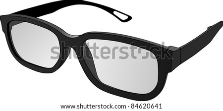 Glasses vector - stock vector