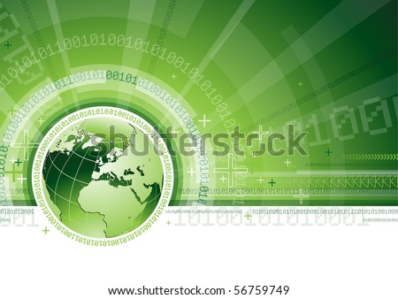 Global Communication - EPS 10 - stock vector